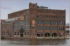Foto oude Droste Cacao Fabriek te Haarlem door Martijna