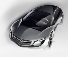 Opel Monza Concept - Design Sketch