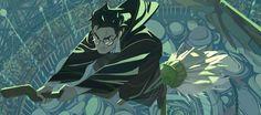 Un artiste français créé une sublime bande dessinée Harry Potter