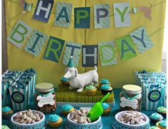 """Dogs / Puppies / Birthday """"Bryce's """"Hot Dog"""" Puppy Party"""" 