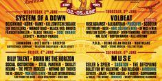 Nova Rock Festival 2021 The Distillers, System Of A Down, Rock Festivals, Of Mice And Men, Black Veil Brides, Korn, Jazz, Blues, Jazz Music