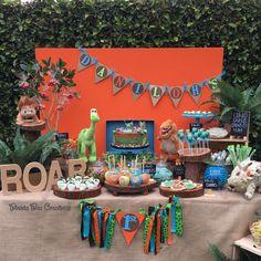 """Good Dinosaur"" Birthday Party Ideas | Photo 1 of 8 | Catch My Party"