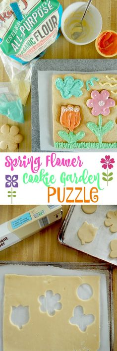 Spring Flower Cookie