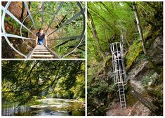 We Belgians often forget how beautiful places just around the corner can be. So when we came across an adventurous ladder hike in Rochehaut, we. Vacation Places, Future Travel, Walking In Nature, Staycation, Hiking Trails, Day Trips, Trekking, Places To See, Beautiful Places