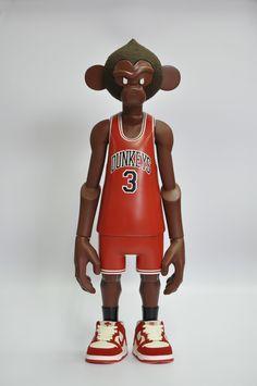 Coolrain Lee→Dunkeys / 2008 Character Design, Sculpting, Toy Design