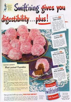 """I love vintage cake recipes... and I also remember shortening cans with the """"key"""" to open the top."""