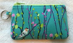 Zippered Credit Card holder/ Coin Purse by LexieLooo on Etsy