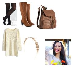 """My life as Eva outfit"" by jnold on Polyvore featuring Jilsen Quality Boots, H&M, Wet Seal and Chicwish"