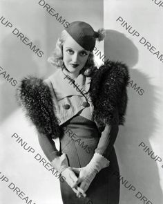 Vintage Photograph of Bette Davis 8 x 10 re-print (Get Any 4 For The Price of 3)