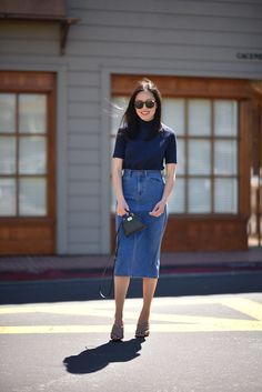High-Waisted | 9to5Chic | Bloglovin'