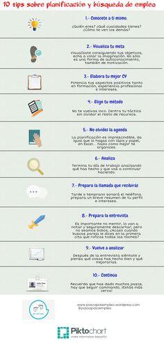 10 consells sobre planificación i recerca de #feina.