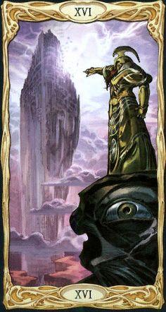The Tower - Epic Tarot