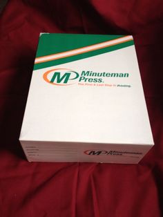 "8 1/2"" X 11"" White Perforated Paper 3 5/8"" From Bottom 10 lb Box #MinutemanPress #PerforatedPaper"