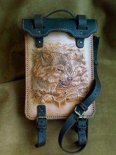 сумка волк 1