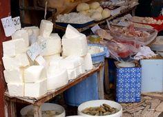 Markt in Tirana, wo die Reise startet und endet.
