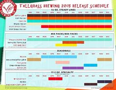 mybeerbuzz.com - Bringing Good Beers & Good People Together...: Tallgrass Brewing Announces 2015 Release Schedule