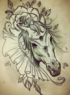 Gypsy/Circus horse