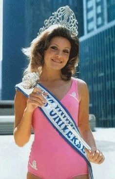 1971 Miss Universe - Georgina Rizk of Beirut, Lebanon.