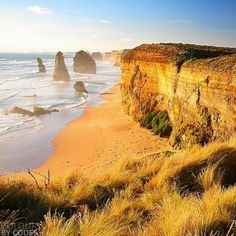 travel memories are the best investment. afternoon sun warming the cliffs at the 12 Apostles on Victoria's stunning Great Ocean Road. #travel #explore #Australia #beautiful #afternoon #12apostles #Victoria #greatoceanroad #stunning #australiagram #journey #roadtrip #drive #findyourcoast #beach #coastline #landscape #cliffs #sun #tbt #potd #nofilter by colourbycodes http://ift.tt/1ijk11S