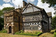 Hall i' th' Wood by Steve Liptrot - Hall i' th' Wood is in Bolton and is a fabulous Tudor building with great details inside and out. Architecture Old, Historical Architecture, Beautiful Architecture, Tudor House, Amazing Buildings, Old Buildings, Great Places, Beautiful Places, Monuments