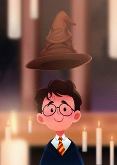 Harry was sorted into Gryffindor 20 years ago! Harry was sorted into Gryffindor 20 years ago! Harry James Potter, Harry Potter Tumblr, Harry Potter Anime, Harry Potter Fandom, Harry Potter Characters, Harry Potter World, Harry Potter Memes, Pintura Do Harry Potter, Harry Potter Painting