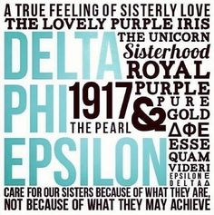 Delta Phi Epsilon <3