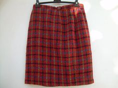 AMAZING PLAID SKIRT  Plus SIze  French fashion France by csclothes