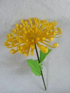 DIY Paper Daisy Flower