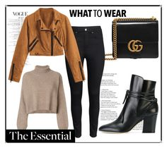 """""""Sans titre #50"""" by salmamakarian on Polyvore featuring mode, Gucci, Sergio Rossi, H&M et Rejina Pyo"""