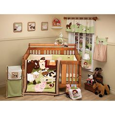 Little Bedding Nojo Celestial Ba 10 Piece Crib Set With Regard To Size 2000 X Farm Babies 5 Luxury Baby Comforter Sets