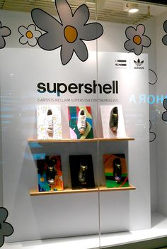 adidas® Supershell windows in Bangkok | Window Display @ Bangkok, Thailand