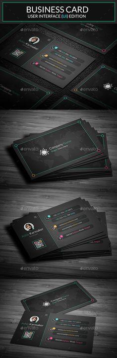 Business Card Template PSD #visitcard #design Download: http://graphicriver.net/item/business-card/13462033?ref=ksioks