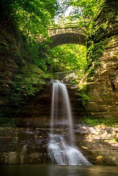 Matthiessen State Park - Lake Falls   Flickr - Photo Sharing!