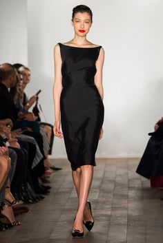 Zac Posen Spring 2015 Ready-to-Wear Fashion Show - Kouka Webb (The Lions)