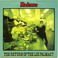 "Madness: Return of the Los Palmas 7. 7"" vinyl single. Stiff Records, London, 1980. BUY 108."