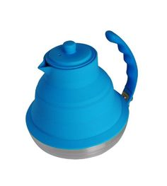 Better Houseware Collapsible Tea Kettle, Royal Blue