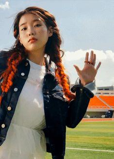 "sinrinity:""iu - bbibbi ❤️"" Iu Gif, Cool Girl, My Girl, Wonder Girls Members, Kpop Profiles, Fandom Kpop, Hair Reference, Drama, Ulzzang Fashion"