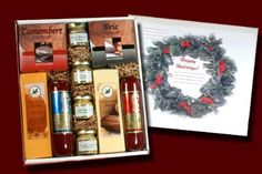 Northwoods Cheese 154 Holiday Party Box - http://www.specialdaysgift.com/northwoods-cheese-154-holiday-party-box/