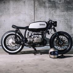 caferacersofinstagramBlack and white with @relicmotorcycles and those BMW R45. . .