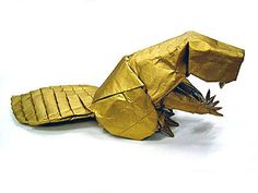Origami Beaver by Brian Chan