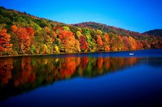 Plum Orchard Lake in West Virginia