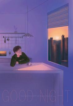 微博 Anime Love, Anime Guys, Gif Lindos, Good Night Gif, Cartoon Gifs, The Secret Book, Gif Pictures, Aesthetic Gif, Boy Art