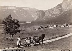 Setesdal History Of Norway, Kristiansand, Beautiful Norway, Scandinavian Countries, North Sea, My Heritage, Vintage Photography, Old Pictures, Denmark