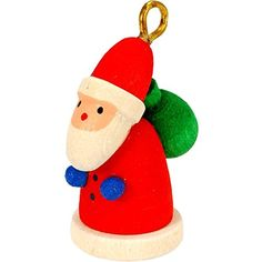 100790  Christian Ulbricht Ornament  Santa  1H x 5W x 75D -- Learn more by visiting the image link.