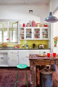Déco cuisine : le style rétro et vintage - Côté Maison