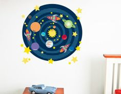 Wall Decal - Solar System
