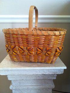 Iroquois Handmade Birch Bark Basket (collection of Rebekah Myers Dunford)