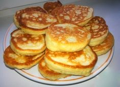 Pancakes at yogurt & quot; Unique Recipes, My Recipes, Cake Recipes, Cooking Recipes, Favorite Recipes, Russian Cakes, Tasty, Yummy Food, Russian Recipes