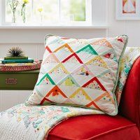Fresh And Bright Pillow Pattern