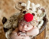 Love this hat for Christmas pictures!!